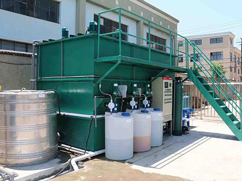 贝斯特全球最奢华网站某变速箱机械加工生产废水50T